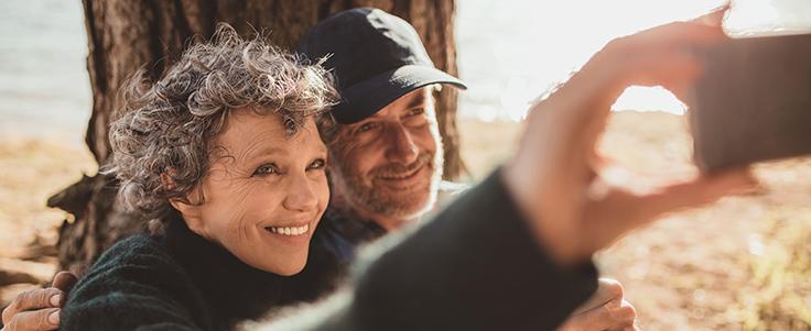 Couple in retirement